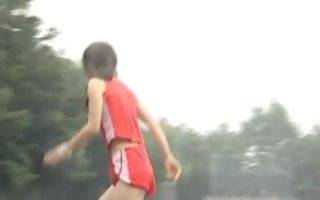 asian dilettante in nude track and field part2