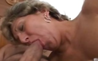 aged vagina rammed in all her fuckholes