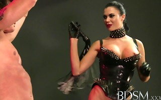bdsm xxx anal is the merely way to educate trio