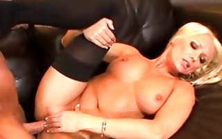 diana doll is a golden-haired milf with large