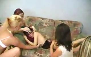 hardcore legal age teenager lesbian babes fuckfest