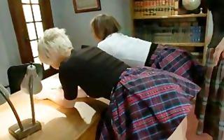 arse punishing students