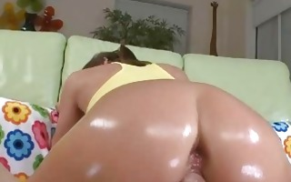 milf oral-stimulation muff and anal drilled
