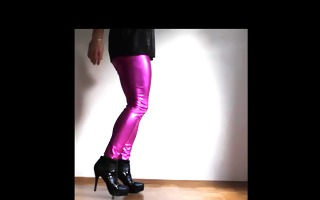 me in my pink leggins