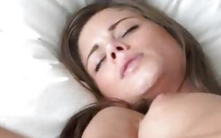 solo masturbation in advance of web camera