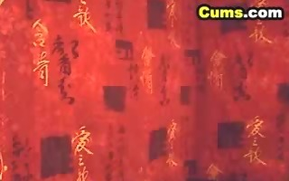 sexy asian babe cunt massage