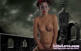 lelu love-halloween zombie sybian ride