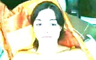 livecam session of brunette hair legal age