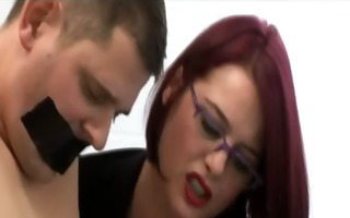 clothed femdom doxies cook jerking