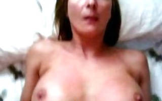 sexy aged wife receives large jism shot