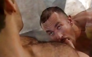 homo hunk wants his dick sucked on