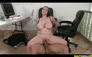desiree getting drilled from the back at the