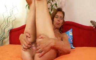 thin dilettante mother toys unshaved twat