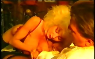 golden-haired large tits receive her bawdy cleft