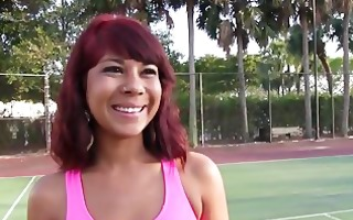 therealworkout hawt ass redhead latin babe