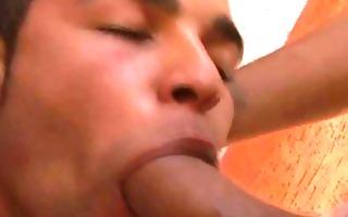 homo latino hardcore soaked sex