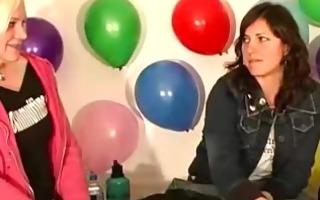 amateurs talking hawt at a sex dare party