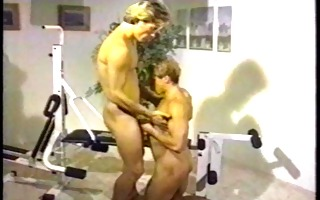 an old school gym fuck - dack vids