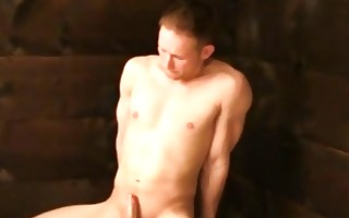 pumped up stud caught exposed and then bounded