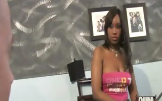 hawt ebony gangbang pleasure interracial 3