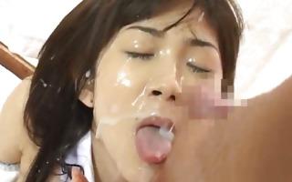 asuka ohzora japanese model in bukkake