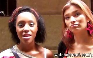 euro hotties pulled in public and screwed