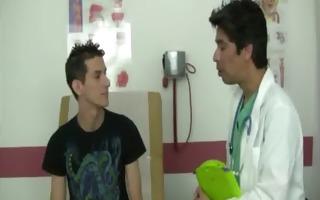 mike receives his teenage weenie examined gay
