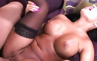 big breasted brunette chick screwed in dark