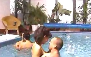 swimming and wife swapping