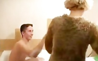 russian mother and youthful chap russian cumshots