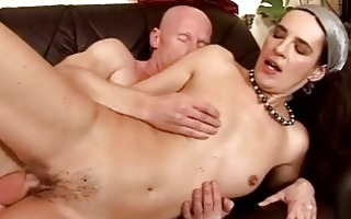 granny giving irrumation and getting fucked hard