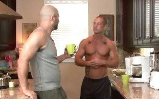 excited shaved gays david follow and wang every