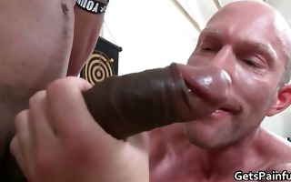 hardcore arse fuck for muscled gay man part2