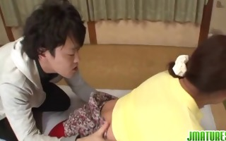 japanese angel neko acquires her plump body