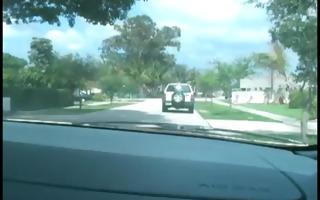blondie swallows cops load in car