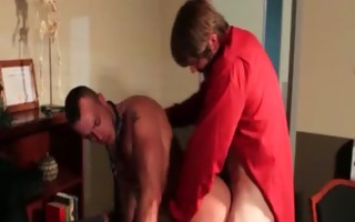 naughty homosexual dudes fucked hard in the booty