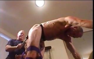 jim roberts bondage, ball bashing and large black