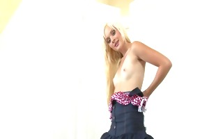 gorgeous blonde goes solo - fba production