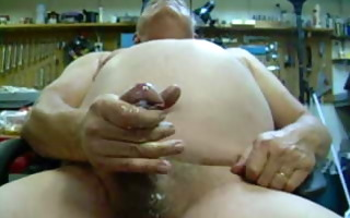 jerking off a large load