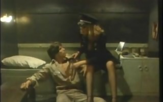 hot stuff - nazi female captain copulates chap -