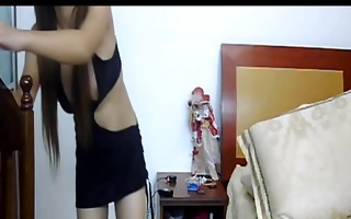 oriental angel stripping on livecam