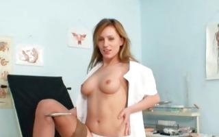 viktorie nasty nurse bawdy cleft masturbation