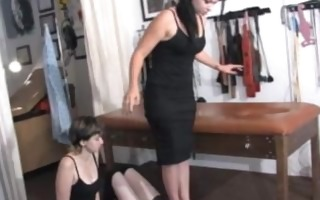 bizarre footdom (lezdom) 12