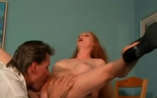 wicked redhead honey blows inflexible dong