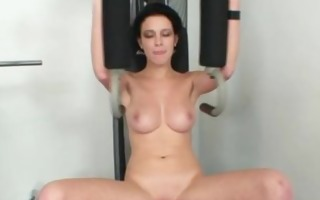 breasty playgirl rita pervy bawdy cleft gaping in