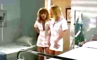wicked nurses dildo team fuck their soaked cunts