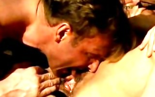 german aged takes 2 pecker in booty troia german