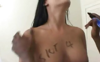 lascivious wife wench cheats with a monster blacl