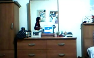 ex-girlfriend on skype