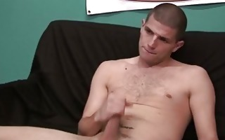 juvenile hot college lad masturbating